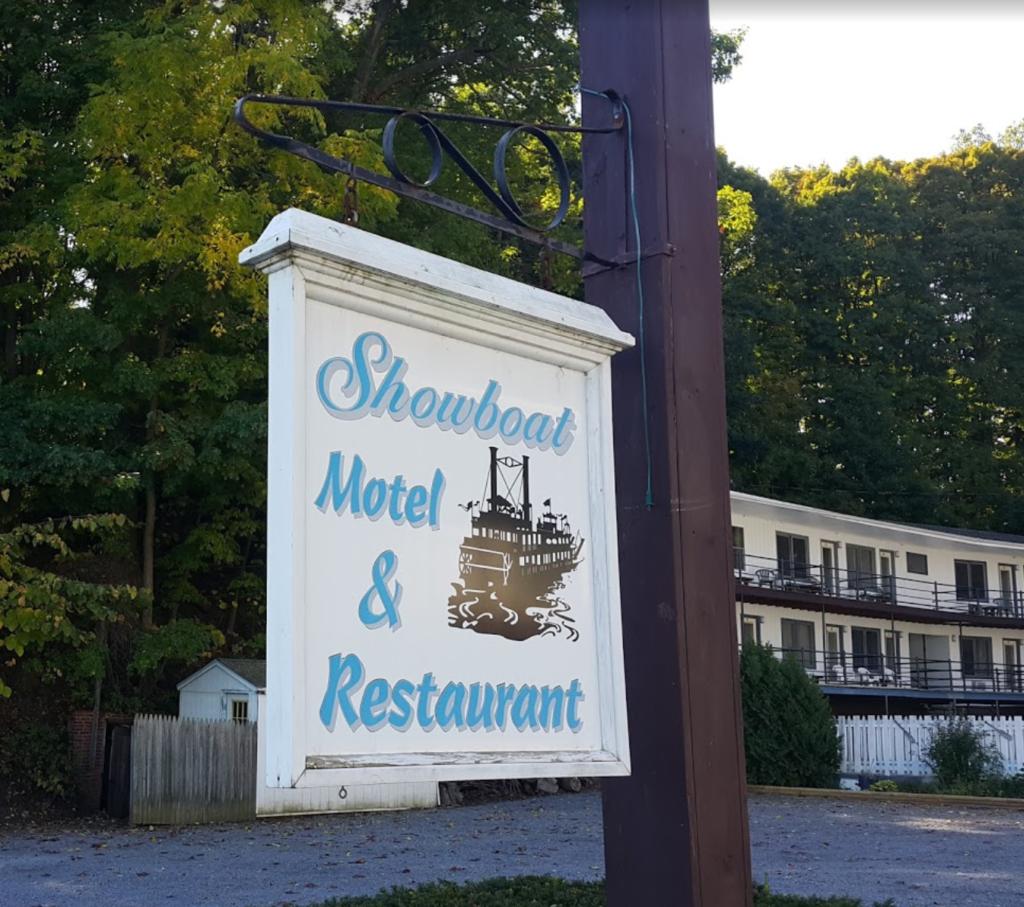 Showboat main business sign