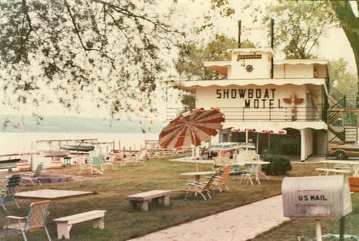 Old picture of Showboat venue